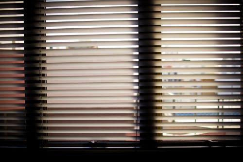 window blinds office office window