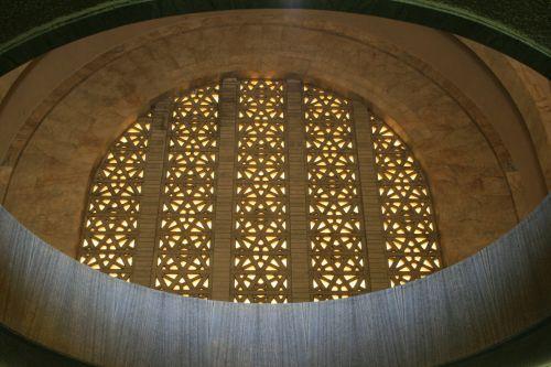 Window From Below, Inside Monument