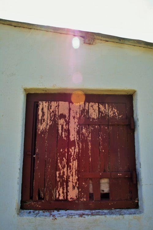 Window Shutter, Farm Building