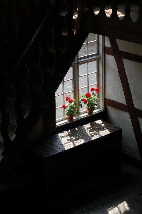 window sill window old