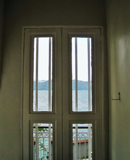 Window With Glass Panes