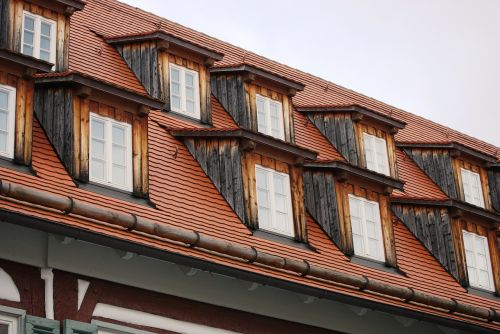 windows roof house