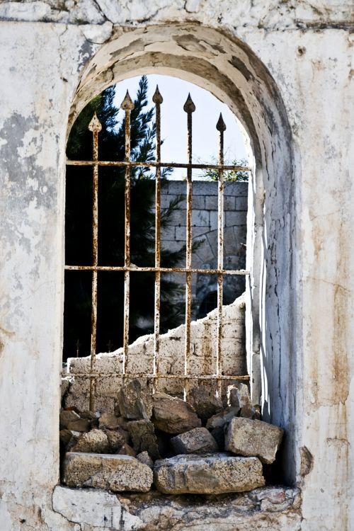 windows old city historic