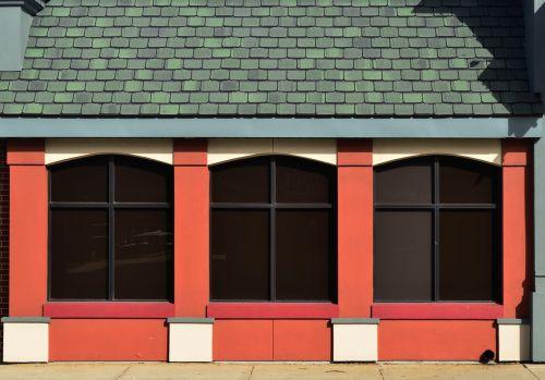 langai,plytos,grafika,dizainas,portalai,eksterjeras,išsamiai,Elkhart,indiana,spalva,oranžinė,žalias,gyvas,dramatiškas,gyvas,spalvinga