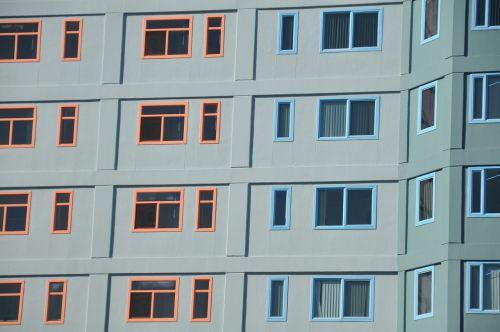 langai, butas, siena, šiuolaikiška, vaizdas, architektūra, architektūra, pastatas
