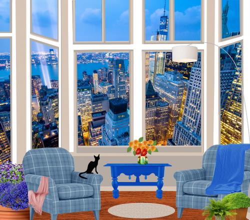 windows lobelia panoramic views
