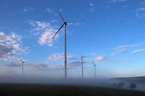 windräder  landscape  nature