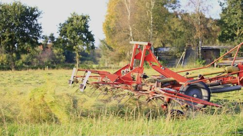 windrower machine agriculture