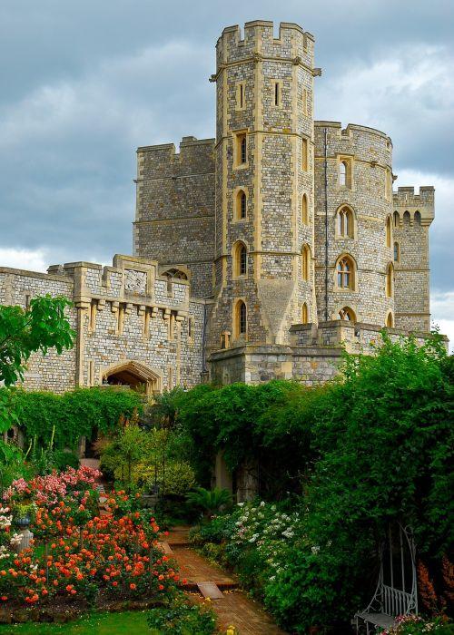 windsor castle hdr castle