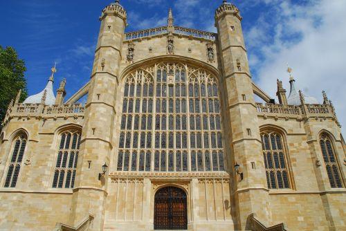 windsor castle st georges medieval