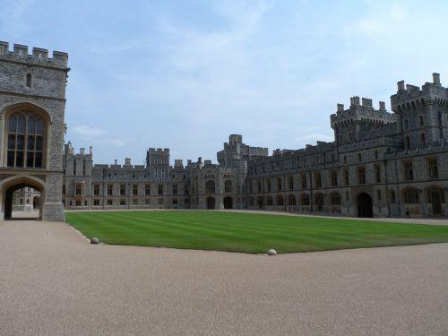 windsor castle hof courtyard