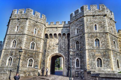 Windsor Castle. England.