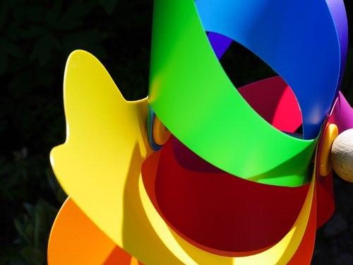 windspiel  windmill  colorful
