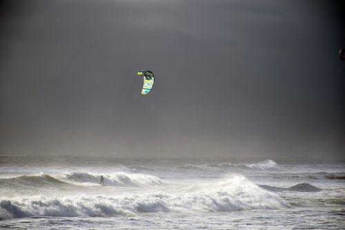windsurfing sea ocean
