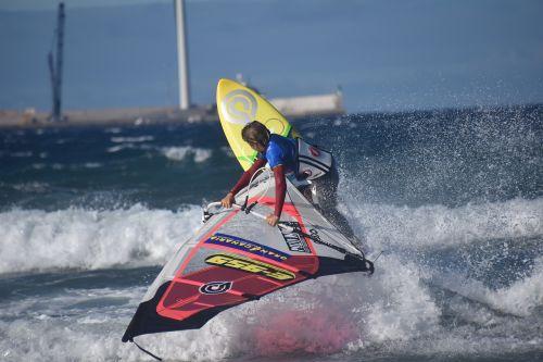 windsurfing gran canaria windsurfing cup