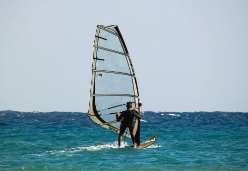 windsurfing sport surfing