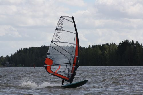 windsurfing windsurfer sail