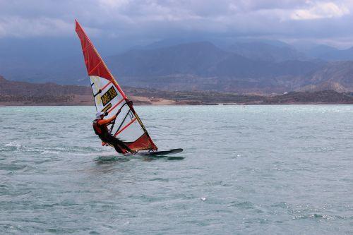 windsurfing slalom mendoza