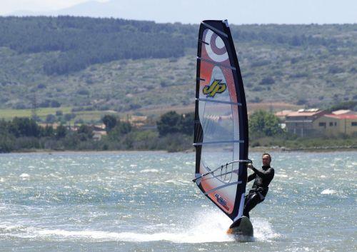 windsurfing sea sport