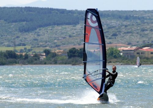 windsurfing summer sport