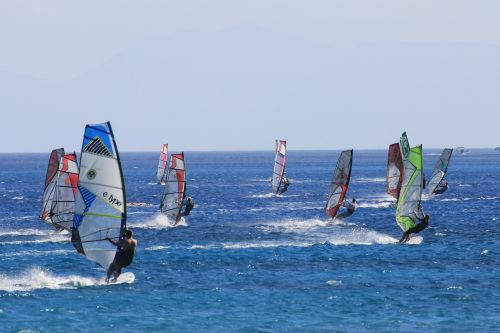 windsurfing sports water sports
