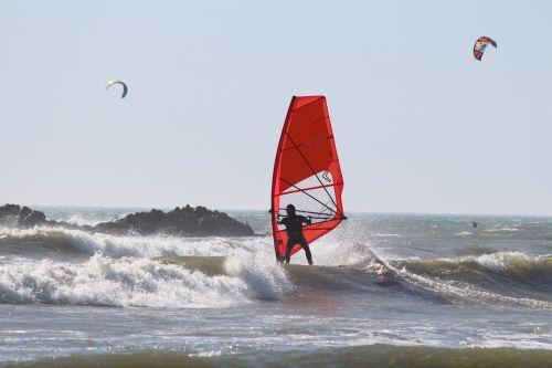 windsurfing water sports ocean