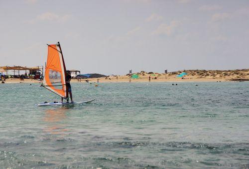 Windsurfing Boy