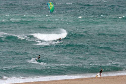 Windsurfing Sport In The Sea