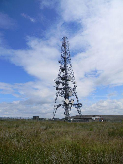 Windy Hill Radio Mast