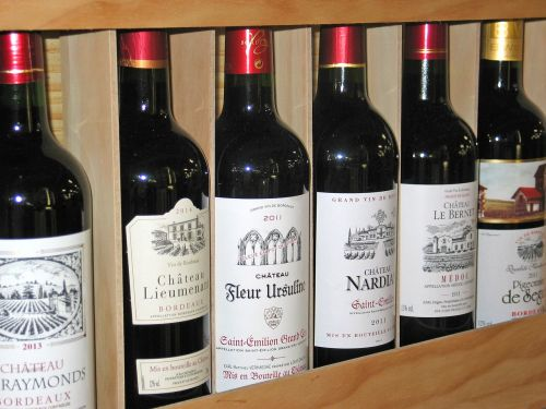 wine wine bottles french red wine
