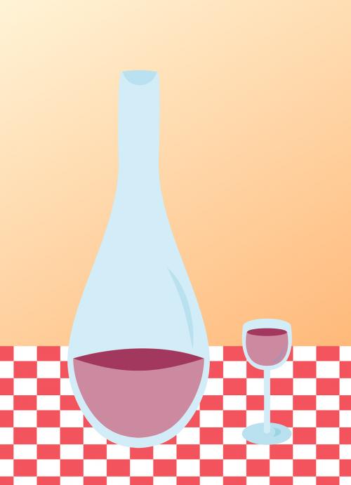 wine carafe bottle