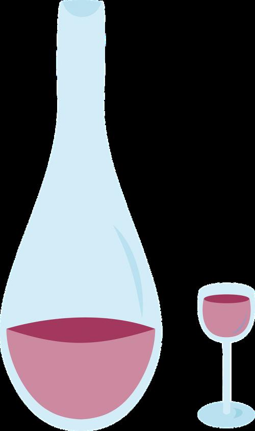 wine carafe glass walk