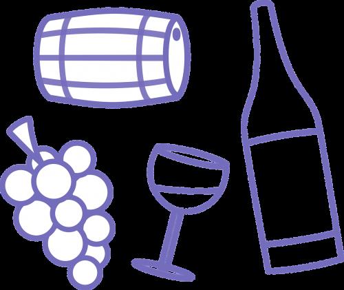 wine barrel glass
