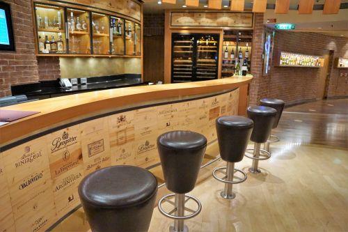 wine shelf wine shop