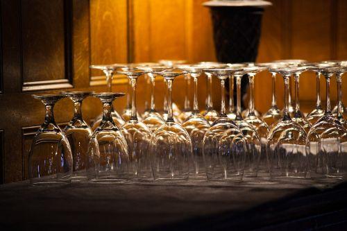 wine glasses drink