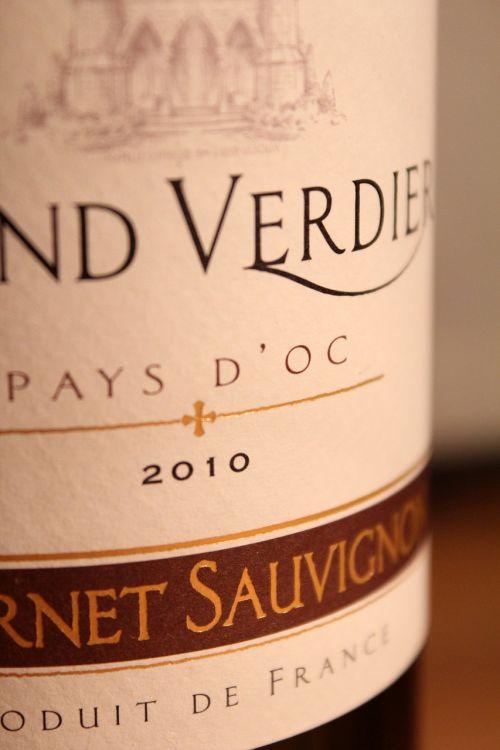 wine wine bottle label