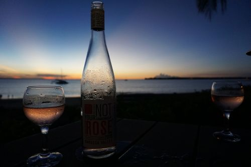 wine sunset darwin