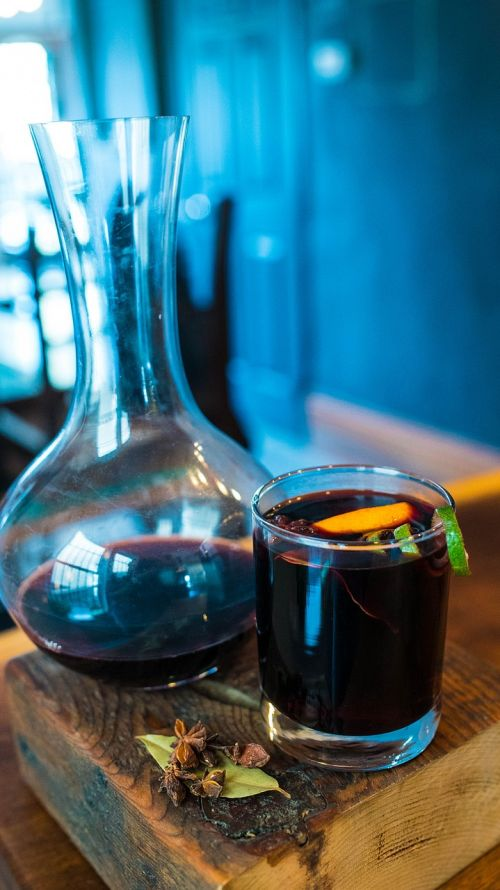 wine mulled wine winter cocktail