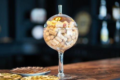 wine  champagne  mushroom
