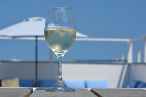 wine glass holiday