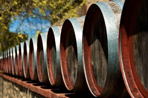 wine  winery  barrels