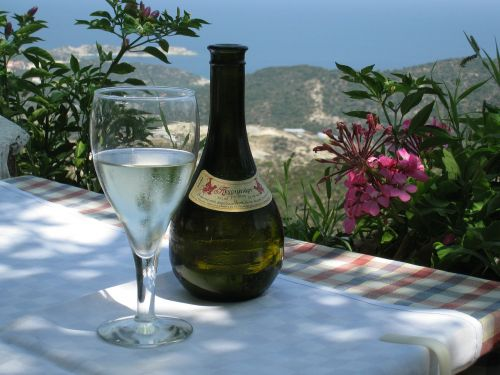 wine retsina greece