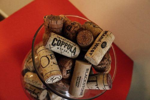 wine champagne cork