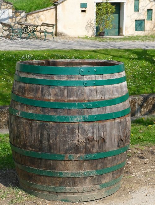 wine barrel barrel burgenland
