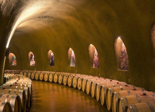 wine cellars caves tunnel