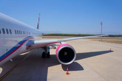 wing turbine plane