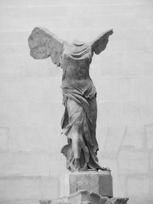 winged victory of samothrace winged victory