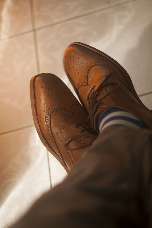 wingtip dress shoes leather shoes
