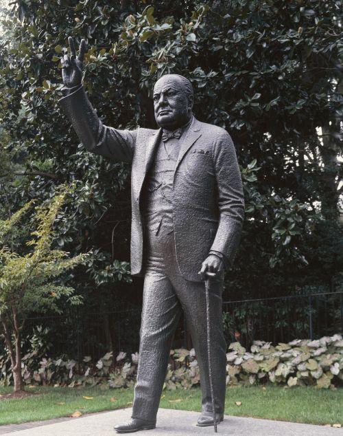 winston churchill statue embassy