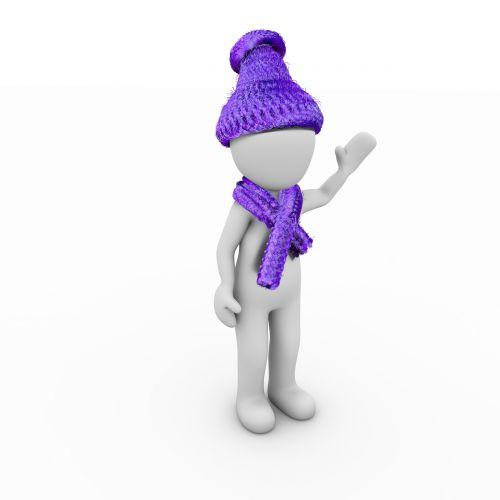 winter cap scarf